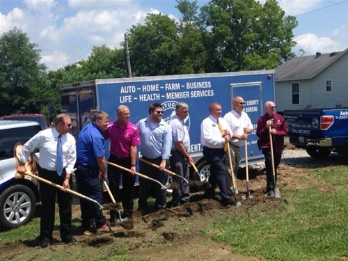 Farm Bureau Ground Breaking