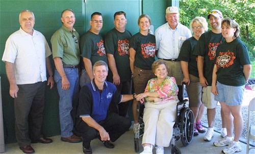 Ann Purnell Shelter Dedication